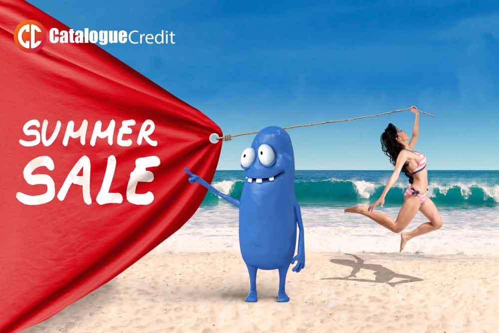 Loving the summer sales with Instant Catalogue Credit